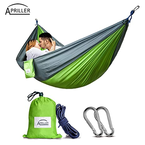 Hammocks Portable Lightweight Nylon Parachute Double Hammock Multifunctional 2 People Camping Backpacking Travel Beach Yard Garden With The Best Service