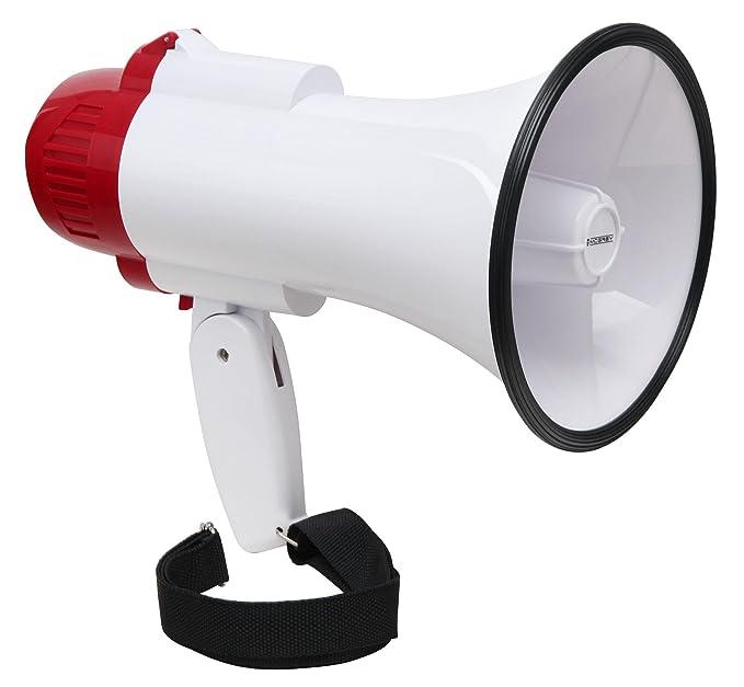 McGrey MP-100RS megáfono, max. 30W, 500m: Amazon.es: Deportes y aire libre