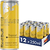 Red Bull Energy Drink Tropical 12 x 250 ml Dosen Getränke Yellow Edition 12er Palette