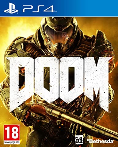 Bethesda Doom, PS4 vídeo - Juego (PS4, PlayStation 4, FPS ...