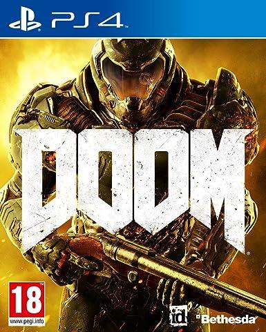 Bethesda Doom Ps4 Video Juego Ps4 Playstation 4 Fps Disparos