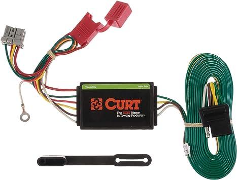 Amazon.com: CURT 56161 Vehicle-Side Custom 4-Pin Trailer Wiring Harness for  Select Honda Odyssey: AutomotiveAmazon.com