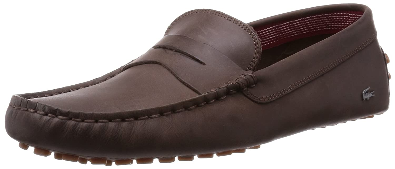 Lacoste - Mocasines para hombre Marrón marrón oscuro: Amazon.es: Zapatos y complementos