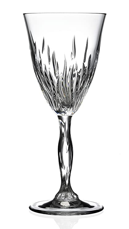 Buy Rcr Cristalleria Italiana Fire Crystal Red Wine Glass Set Of 6 210 Ml Online At Low Prices In India Amazon In