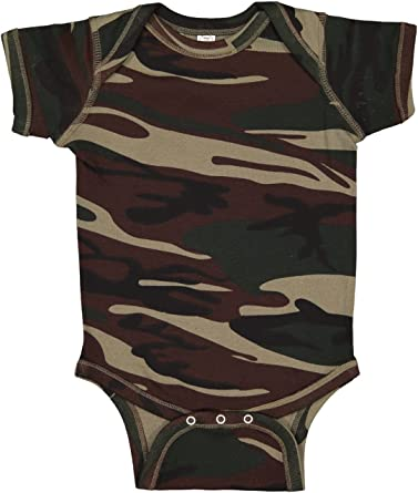 Personalized Girls Pink Creeper Camouflage Camo Infant Newborn Baby Coming Home