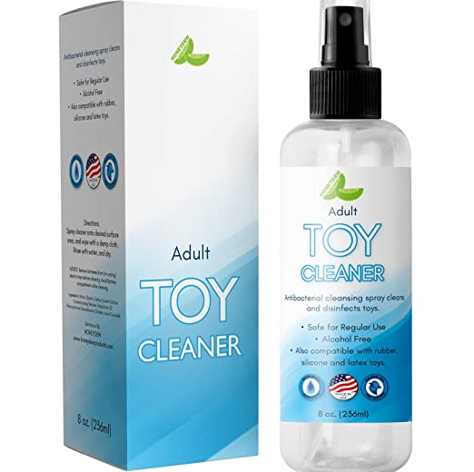 Anti Bacterial Toy Cleaner - Hypoallergenic Disinfectant Spray for Toys