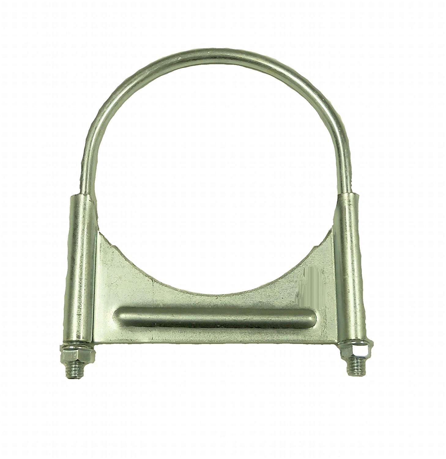 SmartParts 510600 6' Zinc Plated Round U Bolt Guillotine Exhaust Clamp