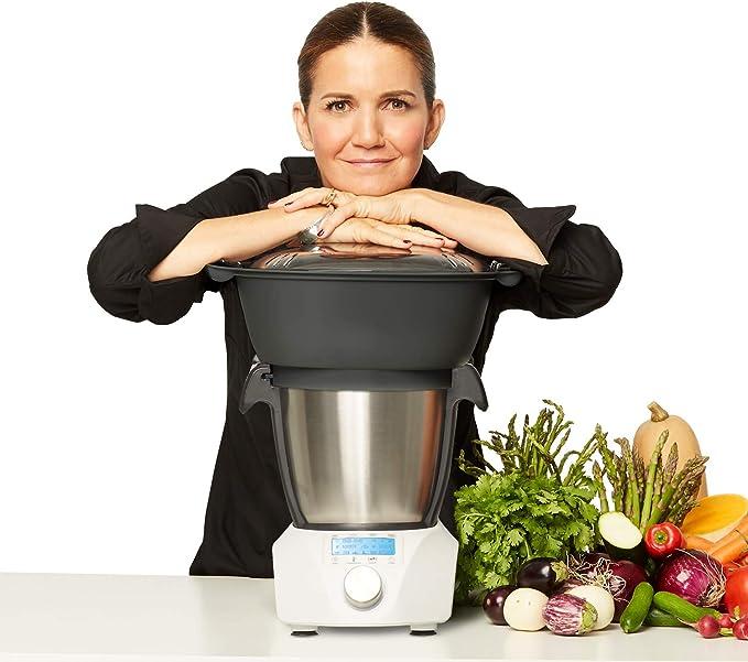 IKOHS Chefbot CompactRobot de cocina de multifunción con diseño compacto [23 funciones + Digital + 10 velocidades con turbo, 3,5 litros de acero inoxidable] sin BPA [Blanco]: Amazon.es: Hogar
