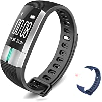 HYON Fitness Tracker Watch Heart Rate Monitor Activity Health Tracker Smart Band Calorie Counter Wristband Pedometer Blood Pressure Bracelet Step Counter for Kids, Women & Men