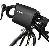 ArcEnCiel 自転車 フレームバッグ 全防水 ブラック