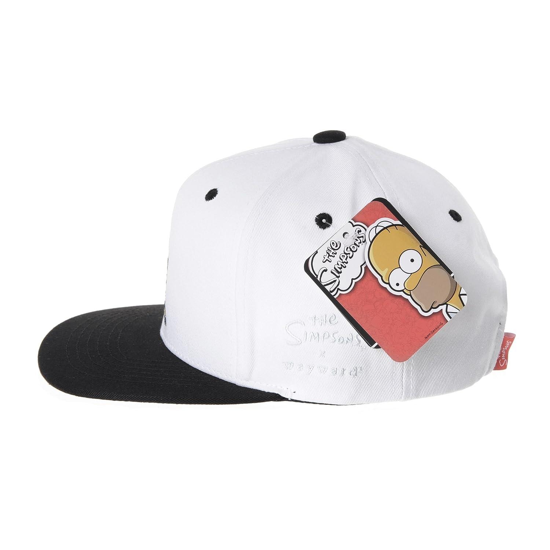 WITHMOONS The Simpsons Baseball Cap Superman Snapback Hat HL2657 (White) at  Amazon Men s Clothing store  f653e8099f87