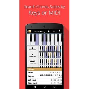 Piano Companion: acordes, escalas, progresión armónica, círculo de ...