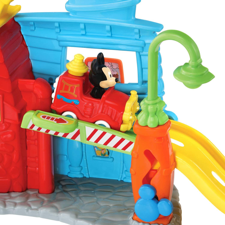 VTech Go! Go! Smart Wheels Mickey Mouse Silly Slides Fire Station by VTech (Image #3)
