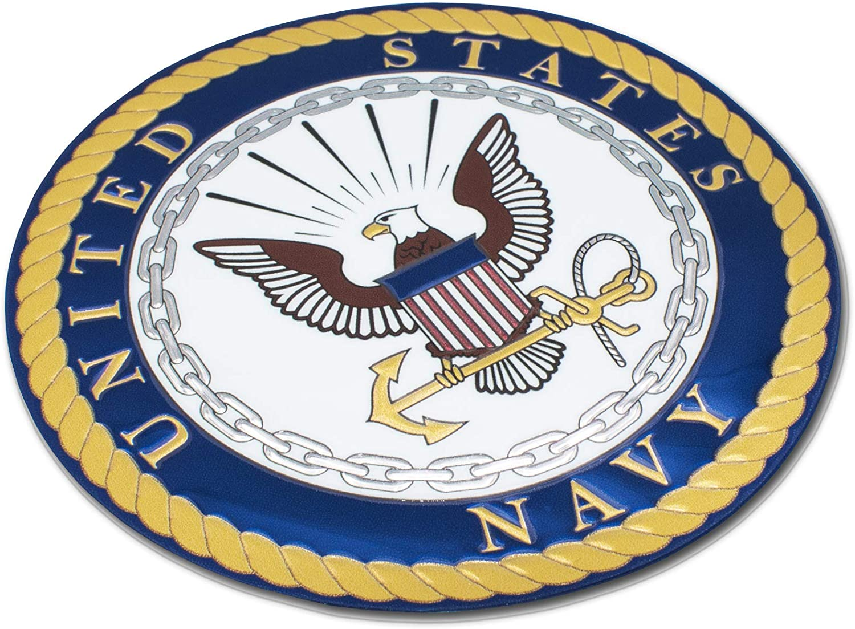 Elektroplate Premium United States Navy 3D Decal Sticker