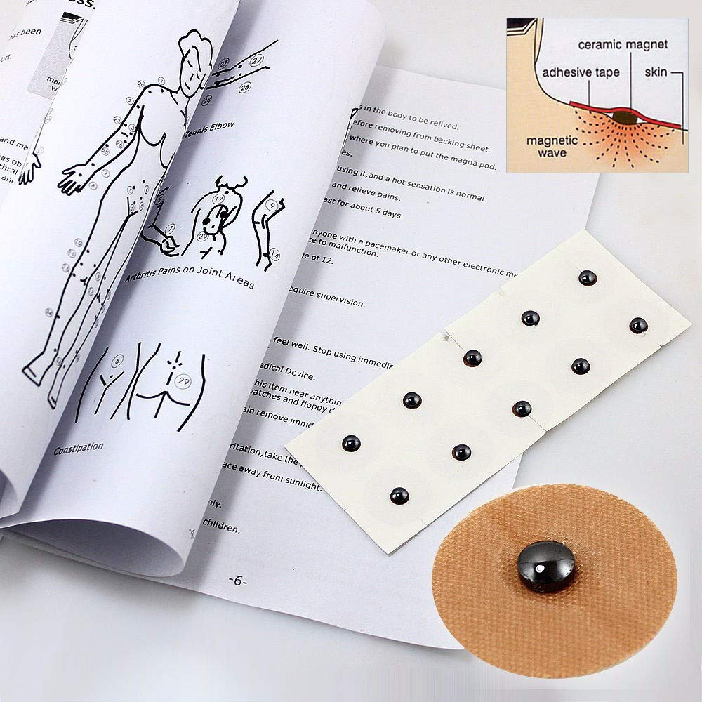 Magnetic Acupressure Patches Pain Relief Body Magnet Muscle Patches Plasters Natural Healing Magnet Therapy by AlexGT (Image #9)