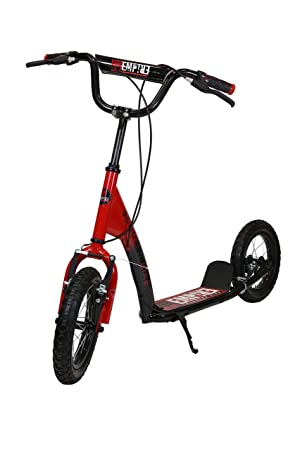 Empire 0016828 Patinete Bicicleta, Niñas, Rojo, 12