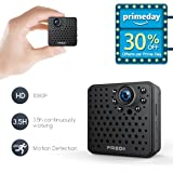 FREDI HD 1080P wireless ip telecamera spy cam mini telecamera videocamera wifi nascosta spia fotografica con movimento investigativo di sorveglianza sicurezza domestica sostegno max 128GB scheda sd (non inclusa) (L17)