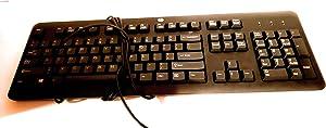 HP Brazillian KU-1156 WS USB Keyboard 674313-201 8300E-Elite 8300-Pro 4300