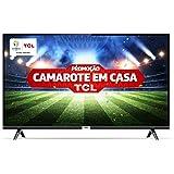 """Smart TV LED 43"""" Android TCl 43s6500 Full HD com Conversor Digital Wi-Fi Bluetooth 1 USB 2 HDMI Controle Remoto com Comando d"""