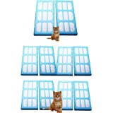 First4Spares Pack of 10 Replacement Water Filter Cartridges for Cat Mate & Dog Mate Fountains