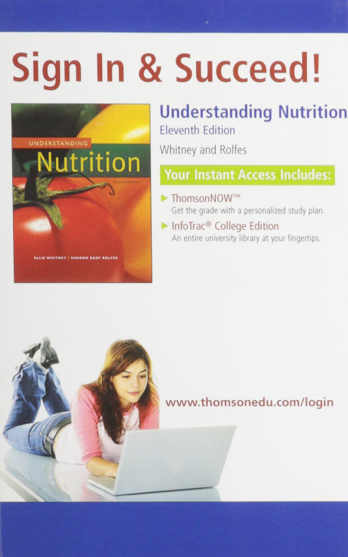 Understanding Nutrition: Eleanor Noss Whitney: 9780495116769: Amazon.com:  Books