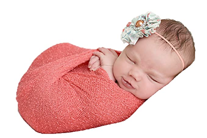 Amazon Com Newborn Photo Prop Stretch Wrap Baby Photography Wrap