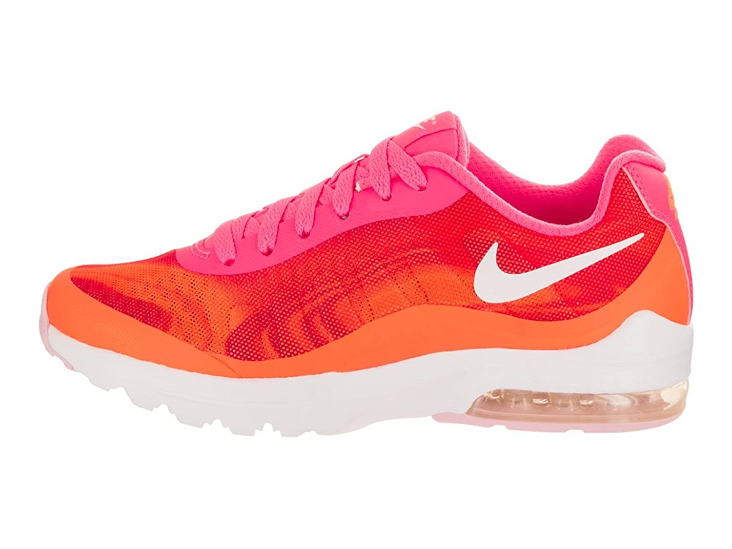 Nike Women's Air Max Invigor Print Running Shoe, Racer Pink