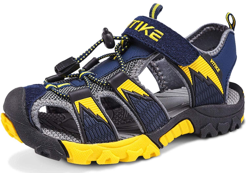 Sandalias para ni/ño Sandalias Deportivas Zapatillas de Trekking y SenderismoUnisex Ni/ños