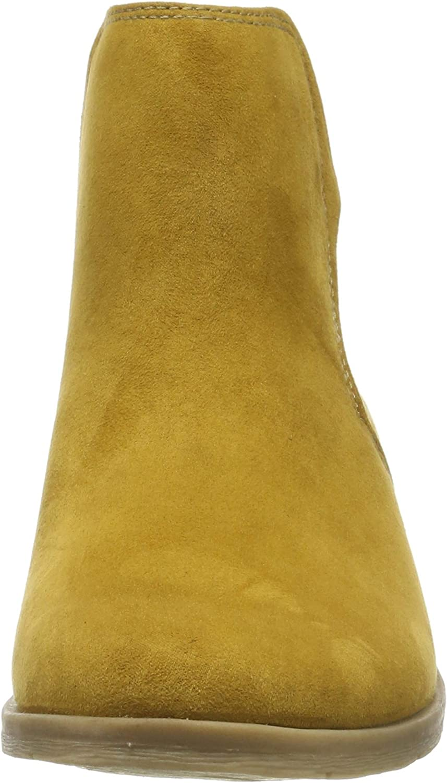 MARCO TOZZI Women's 2-2-25321-33 Chelsea Boots Yellow Mustard 606