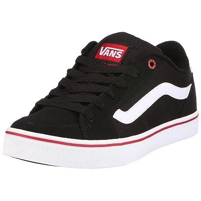 051718e87c5e Vans Men s M TRANSISTOR VKXTBA2 Trainers Black EU 40  Amazon.co.uk  Shoes    Bags