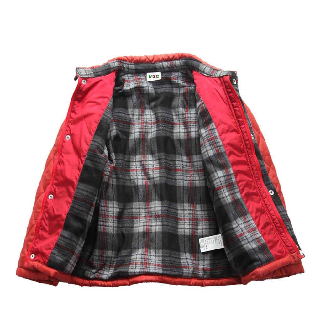 M2C Boys Winter Light Diamond Quilted Fleece Lined Padded Barn Jacket WNJP02AM