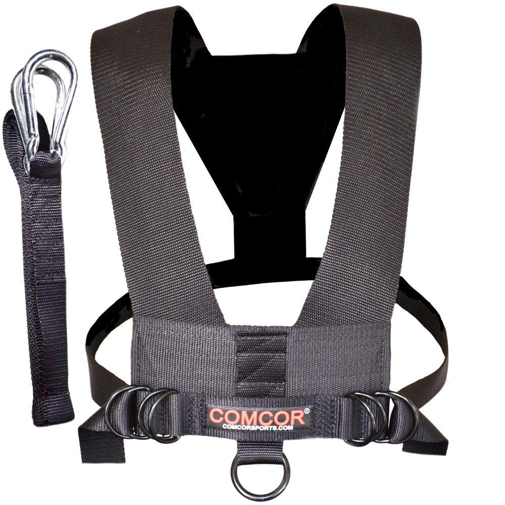 ComCor Minimalist Sled Harness and 9 Pull Strap – Made in USA