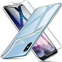 "Kit Capa E Película De Vidro Temperado Para Xiaomi Redmi Note 6 Pro De Tela 6.26"" Capinha Transparente Clear Ultra Fina - Danet"