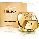 Lady Million Edp 80 Ml Produto 100% Original/Lacrado