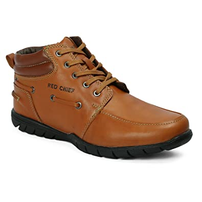 Buy Red Chief Tan Men's Casual Leather