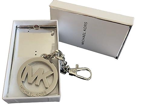 Amazon.com: Michael Kors Firma MK Logo Medallón Clave FOB ...
