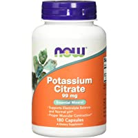 Now Foods - POTASSIUM CITRATE 99mg - 180 caps