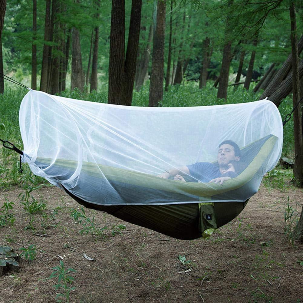 Hamac moustiquaire maille respiration camping en plein air hamster couverture universelle en maillage