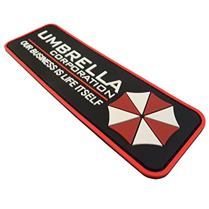 Umbrella Corporation Resident Evil Cosplay PVC Rubber 3D Hook-and-Loop Patch: Amazon.es: Deportes y aire libre