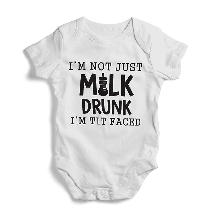 e7beeeea1c3e Amazon.com: I'm not just milk drunk i'm tit faced - Onesie, Funny ...