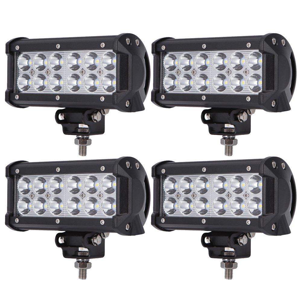 BRIGHTUM 36W 7' CREE Work Light Faro da Lavoro a LED 12V 24V (4 Pezzo) BRIGHTUM COMPANY LIMITED