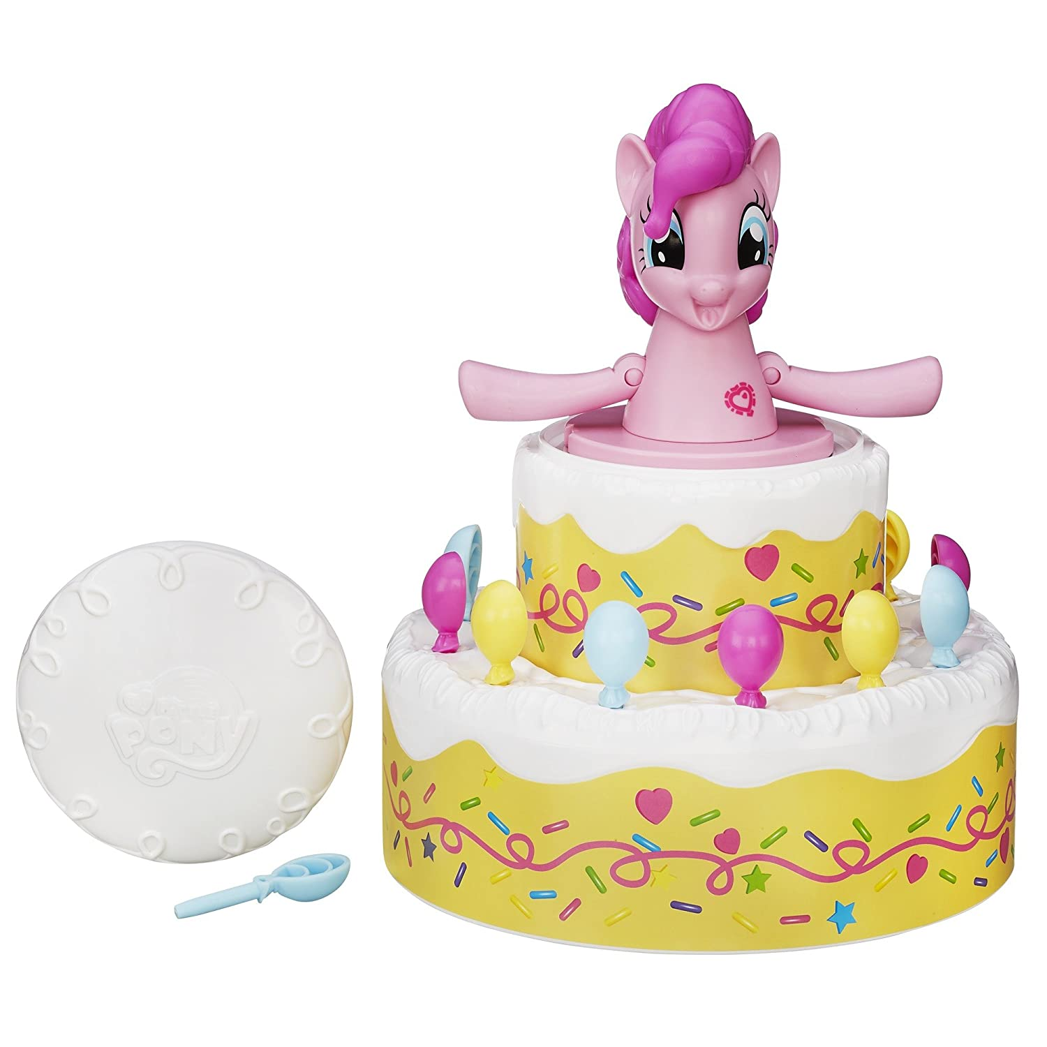 Amazon Hasbro My Little Pony Poppin Pinkie Pie Game Toys Games
