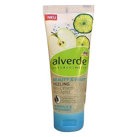 Alverde Natural Cosmetics Exfoliating Beauty & Fruity Oil, Vegan ...