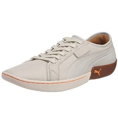 PUMA, Casual Uomo, Bianco (WhiteFluo Orange), 40 EU: Amazon