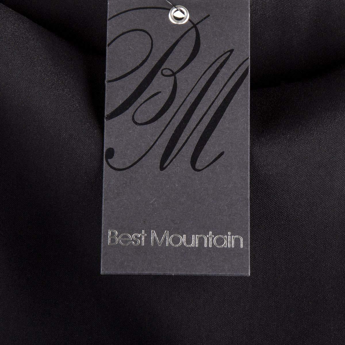Best Mountain Robe Noire Blazer sans Manche Femme L Noir  Amazon.fr   Vêtements et accessoires 67d34c5be128