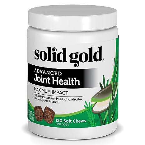 amazon com solid gold glucosamine advanced joint health chews