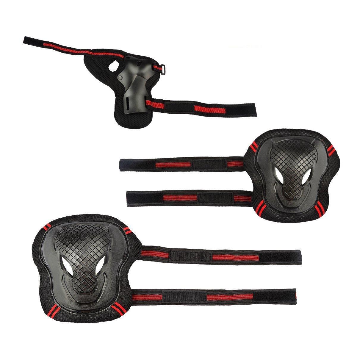 Ecent Protectores skate 6Pcs Set Proteccion Protector de Muneca Guardias para Rodilleras y Coderas para Skate Esqui Escalada Ciclismo: Amazon.es: Deportes y ...