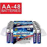 ACDelco AA Batteries, Alkaline Battery, 48 Count