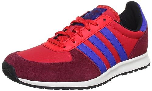 buy online 92467 07aa7 adidas Originals Adistar Racer - Zapatillas de running para hombre, Vivid  Red S   True Blue   Cardinal 13, 36 2 3  Amazon.es  Zapatos y complementos