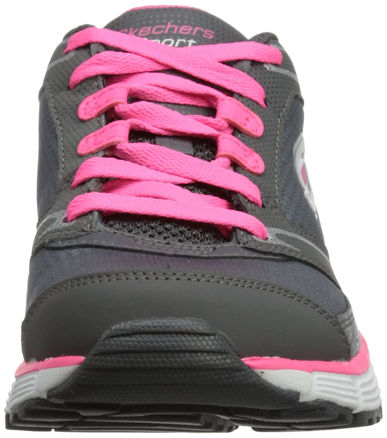Skechers agility - rewind, mujer, gris (cchp), 36